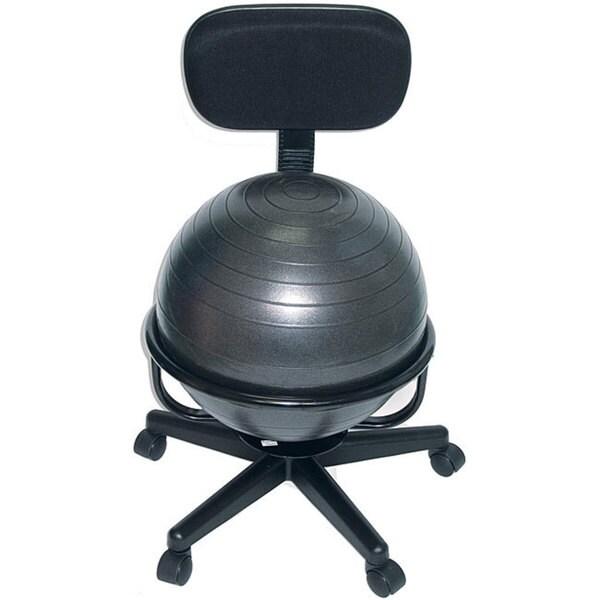 Cando Ball Office Chair 12408048 Overstock Com