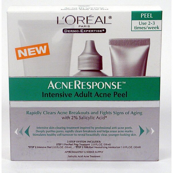 L Oreal Dermo Expertise Intensive Adult Acne Peel Pack Of