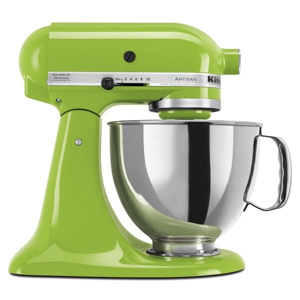 Kitchenaid Ksm150psga Green Apple 5 Quart Artisan Tilt