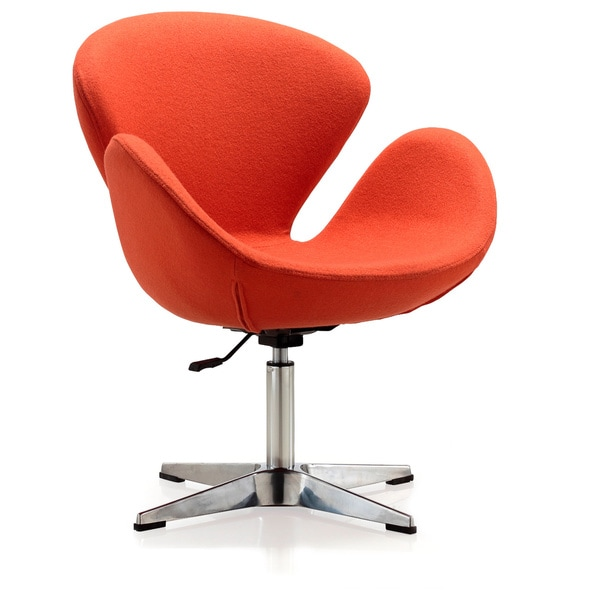 Swan Adjustable Chair Orange 12439458 Overstock Com