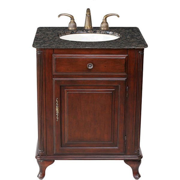 27 Inch Bathroom Vanities: Stufurhome Lucy Classic Single-sink 27-inch Vanity