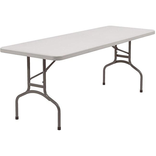 Nps Resin Rectangular Folding Table 30 X 72 12584218