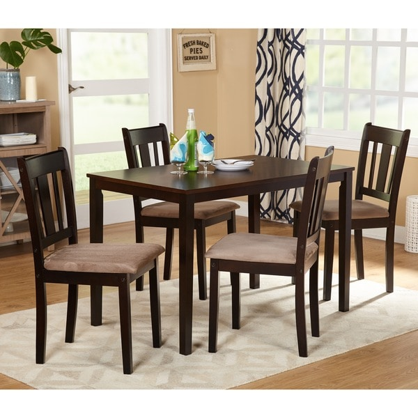 Simple Living Room Furniture Big: Simple Living Stratton 5-piece Dining Set