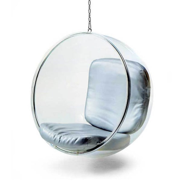 Hanging Bubble Chair - 12603423 - Overstock.com Shopping ...