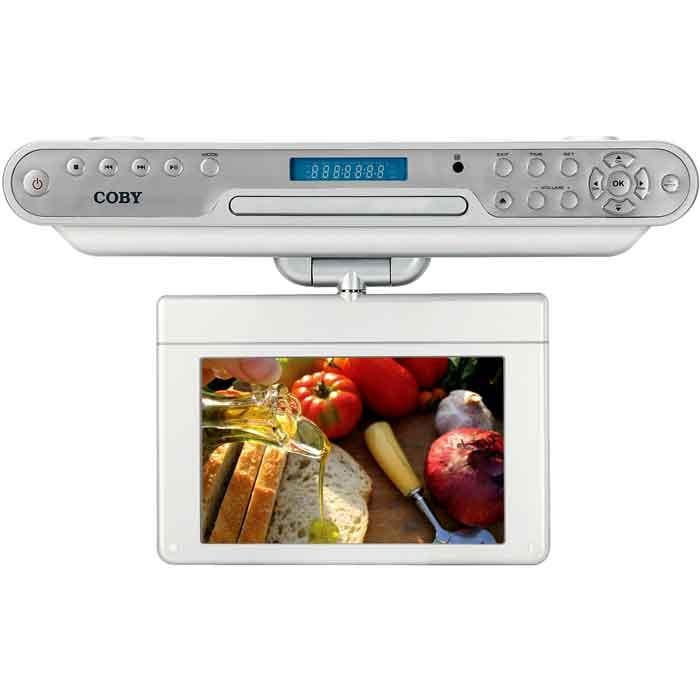 Coby 10 2 Inch Under Cabinet Dvd Tv 11757116