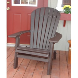 Forever Phat Tommy Recycled Poly Folding Adirondack Chair