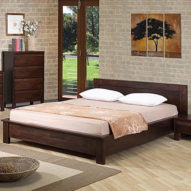 Alsa queen platform bed l80071335a