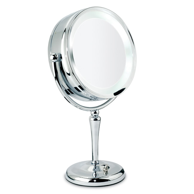 Danielle 1x 10x Chrome Revolving Lighted Mirror