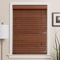 Arlo Blinds Customized Real Wood 18-inch Wide Window Blinds