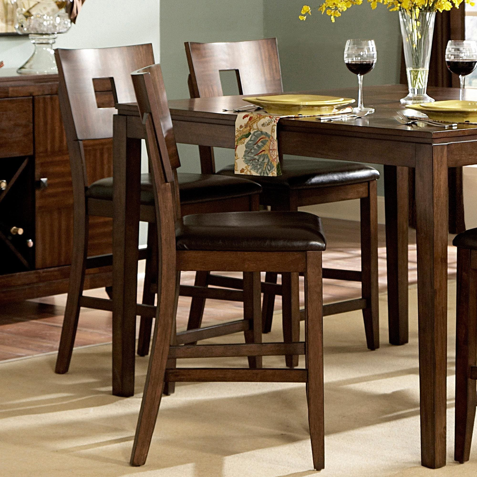 Set Of 2 ETHAN HOME 24-inch Counter Height Chair Stool