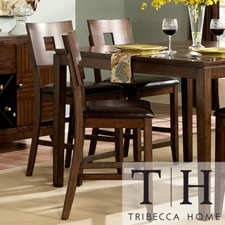 Tribecca Home Watson 24 Inch Counter Height Chair Set Of