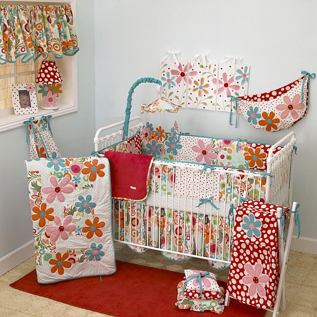 Cotton Tale Lizzie 8 Piece Crib Bedding Set 12665834