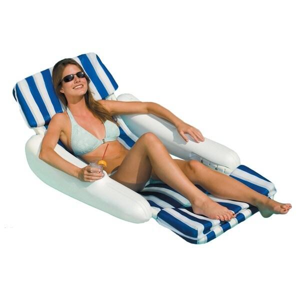 Swimline Sunchaser Padded Floating Pool Lounger 12673063