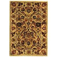 Safavieh Handmade Treasured Gold Wool Rug - 2' x 3'