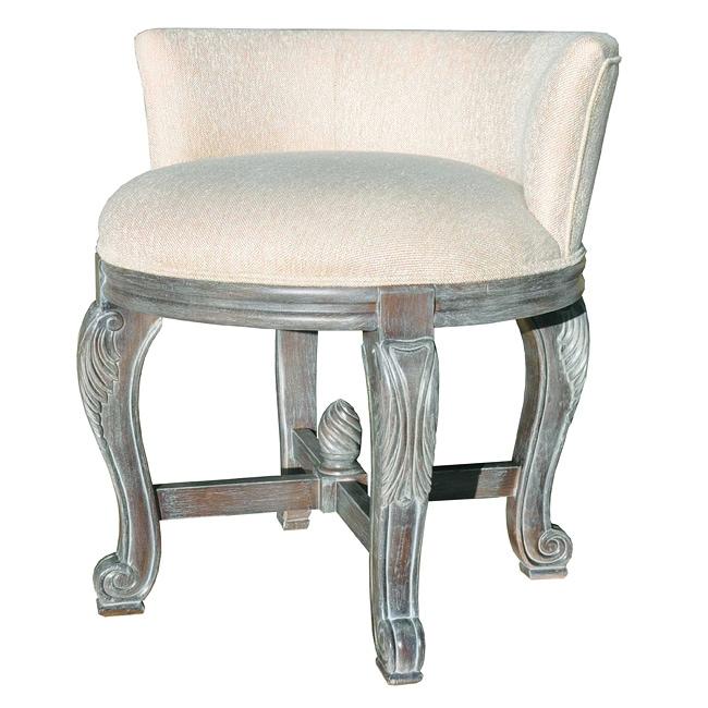 Perla Vanity Chair - Overstock Shopping - Great Deals on ...