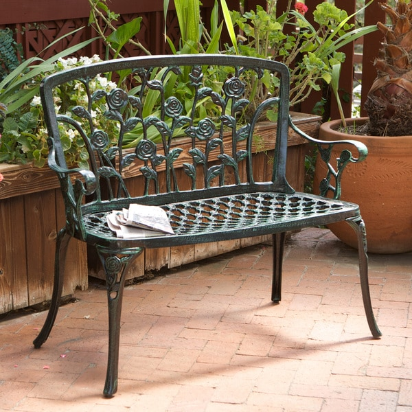 Christopher Knight Home Saint Kitts Cast Aluminum Patio