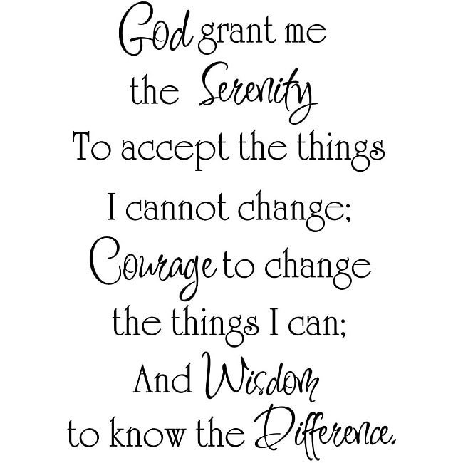 fbff980d9 Serenity Prayer Tattoo God Grant Me The Serenity Quote Tattoo: Share: Email