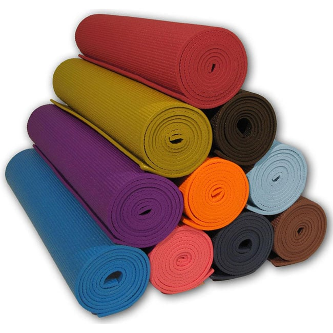 Deluxe Clean Pvc Eco Friendly 72 Inch Yoga Pilates Mat