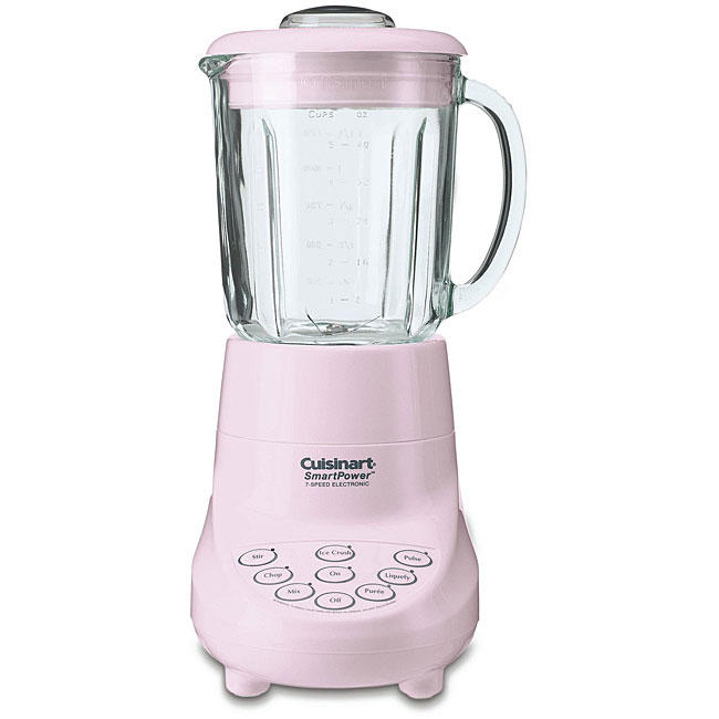 Cuisinart Spb 7pk Pink 7 Speed Smartpower Blender