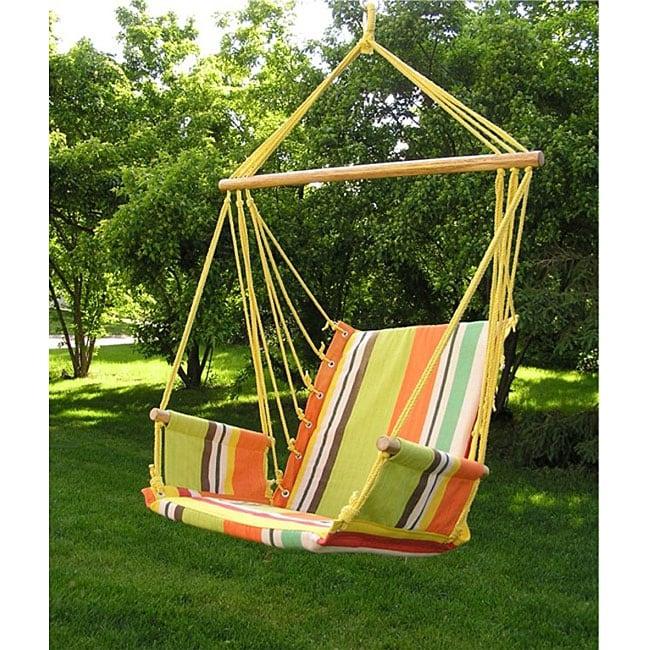 Deluxe Rainbow Hanging Hammock Sky Swing Chair 12759058