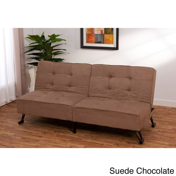 Sofa Bed Deals: Vision Click Clack Contemporary Convertible Futon Sofa Bed