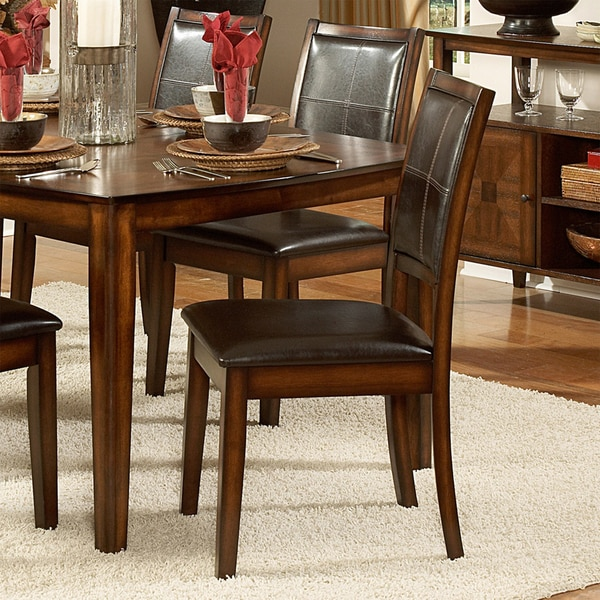 TRIBECCA HOME Frisco Bay Burnished Oak Dining Chair (Set Of 2