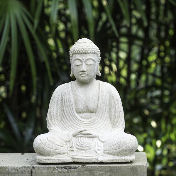 White Sandstone Buddha Statue Indonesia 12915104