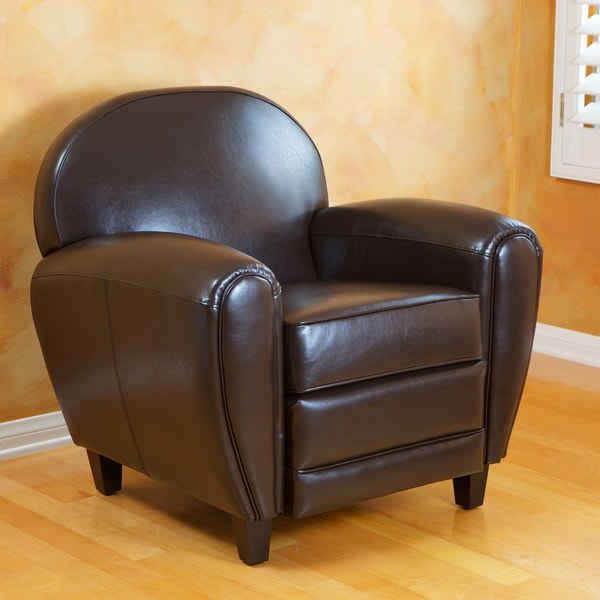 Christopher Knight Home David Brown Bonded Leather Club