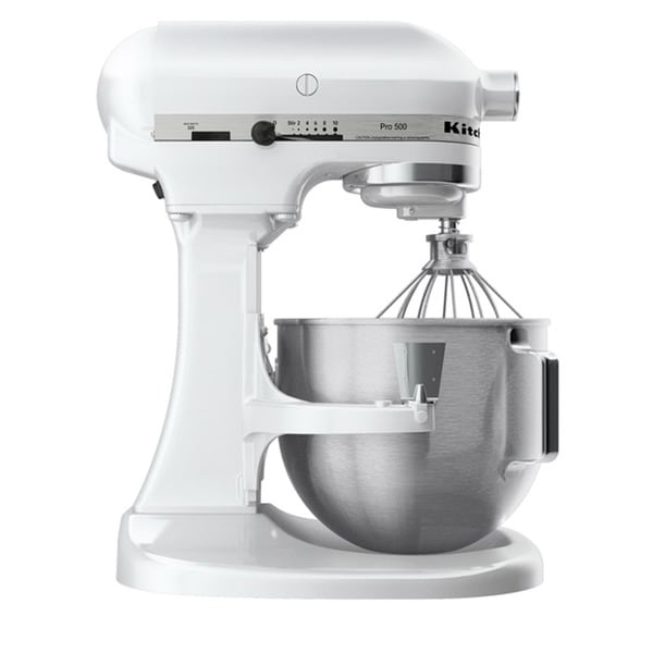 Kitchenaid Rksm500wh White Pro 500 5 Quart Mixer