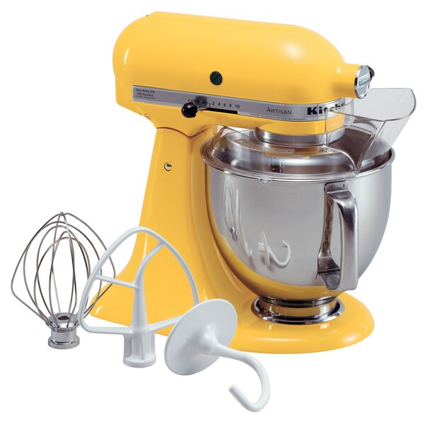 Kitchenaid Rksm500bf Buttercup Yellow Pro 500 5 Quart