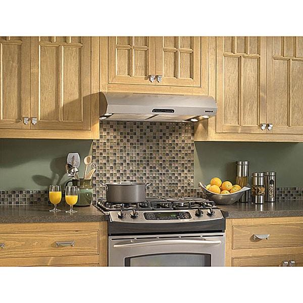 Broan Evolution 1 Series 30 Inch Stainless Steel Under Cabinet Range Hood