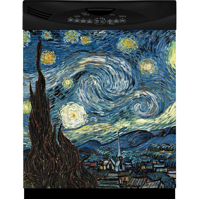 Appliance Art Starry Night Dishwasher Cover 12966104