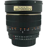 Rokinon 85MAF-N 85mm Nikon Automatic F1.4 Lens