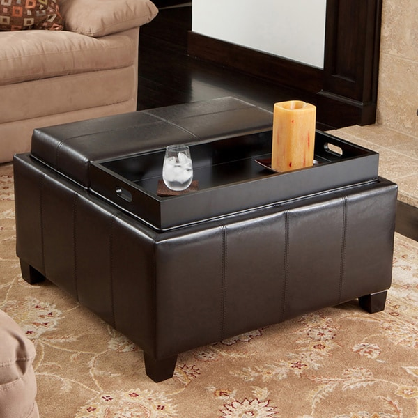 Christopher Knight Home Mansfield Bonded Leather Espresso