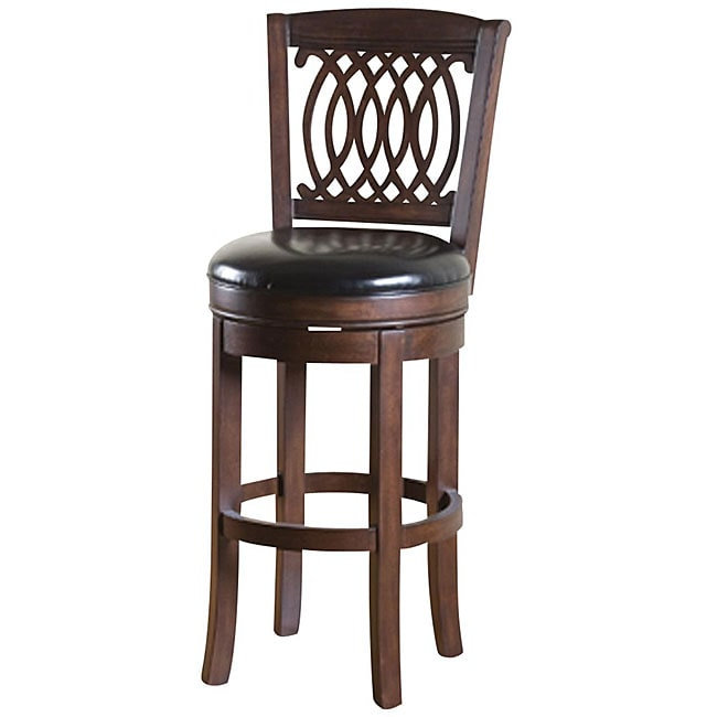 Shop Tribecca Home Watson 24 Inch Counter Height Chair: Rollins 24-inch Swivel Counter Stool