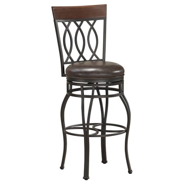 derby 34 inch swivel bar stool 12985983 shopping great deals on bar stools. Black Bedroom Furniture Sets. Home Design Ideas