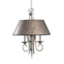 3 Light Tuscan Gold Pewter Pendant 12990808 Overstock