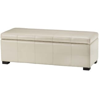 Christopher Knight Home Guernsey Ivory Bonded Leather