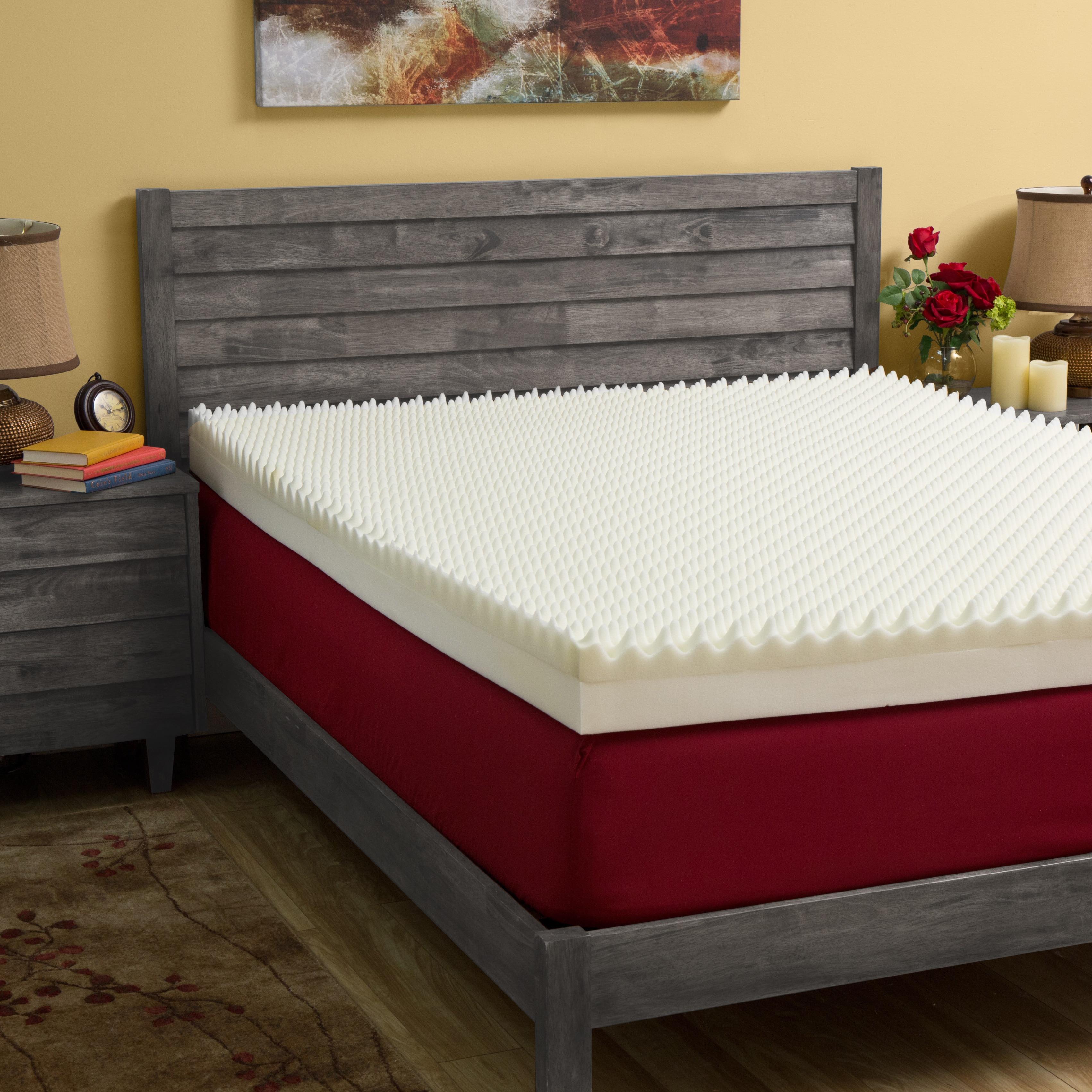 Slumber Solutions Highloft Supreme 4 Inch Memory Foam