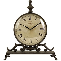 Handcrafted Provence Chateau Wall Clock 13016238