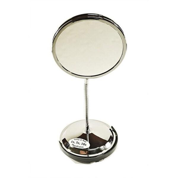 Zadro Fg60 Tri Vision Gooseneck Vanity Wall Mirror