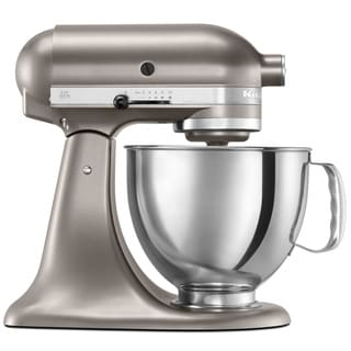 Kitchenaid Rkp26m1xcs Cocoa Silver 6 Quart Pro 600 Bowl