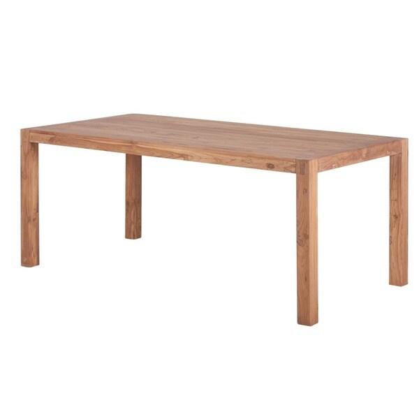 Reclaimed Teak Wood Simple Dining Table India 13045395