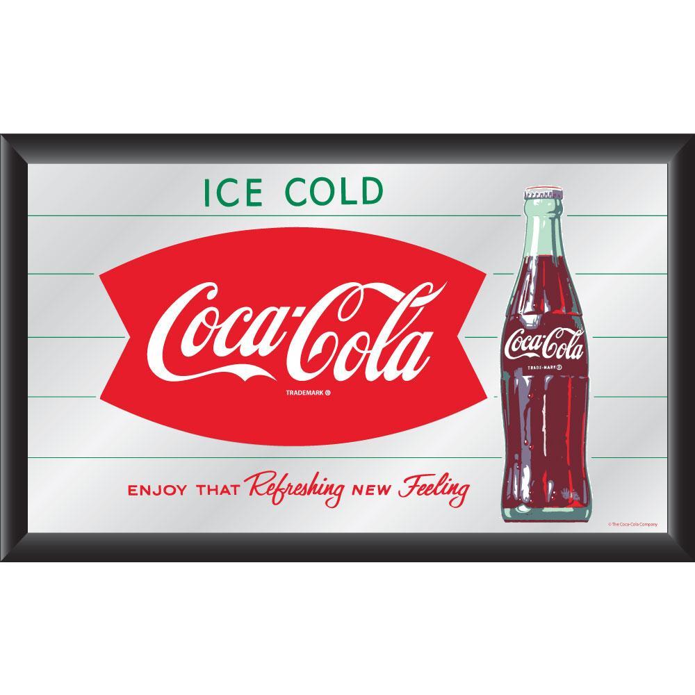Coca Cola Collectible With Coke Logo Vintage Mirror