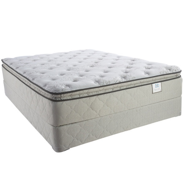 Sealy Brand Moonstruck Plush Euro Pillowtop King Size