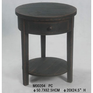 Abbyson Living Morgan Round End Table 11883789