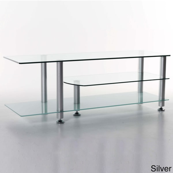 Rocket Glass Tv Stand 13070294 Overstock Com