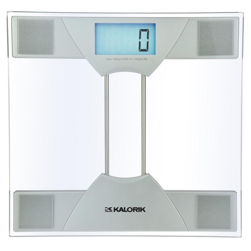 Digital Bathroom Scales For Sale: Kalorik Electronic Bathroom Scale
