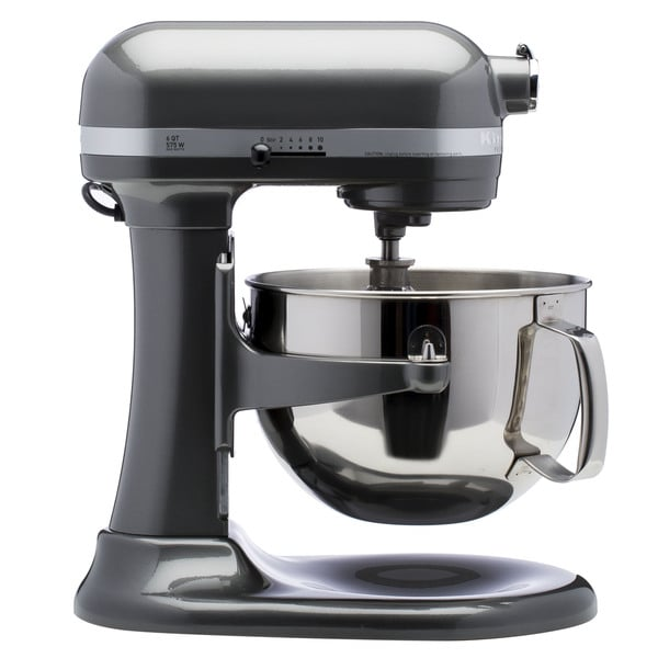 Kitchenaid Rkp26m1xpm Pearl Metallic 6 Quart Pro 600 Bowl