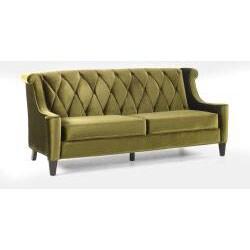 Modern Green Velvet Sofa 13096013 Overstock Shopping